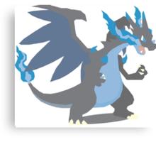 Charizard Mega Evolution - Pokemon X Canvas Print