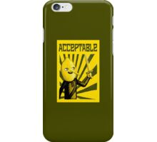 Acceptable, 2014 iPhone Case/Skin