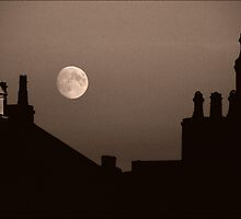 Autumn Moonrise by PaulBradley