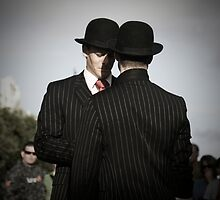 Two English Gents by Reggie Goh