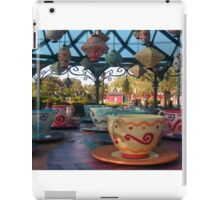 Mad Hatter's Tea Cups - Disneyland Paris iPad Case/Skin