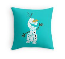 Do You Want To Build A Snowman? - Frozen Throw Pillow