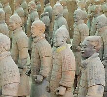 Terracotta Army by gail