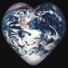 Earth Heart by Gravityx9