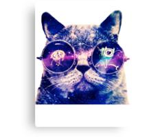 Adventure Time Cat Canvas Print