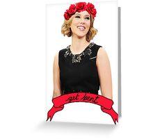 Scarlett Bae Greeting Card