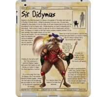 Practical Visitor's Guide to the Labyrinth - Sir Didymus iPad Case/Skin