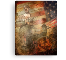 Private Smith's Diary. The Doctor Will See Me Soon.  Canvas Print