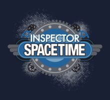 Inspector Spacetime by rexraygun