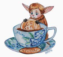 Bat John and Tea by HattieHedgehog