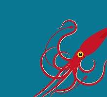 Giant Squid by Mark Walker