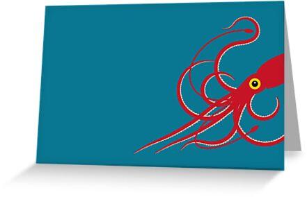 Giant Squid by Mark Walker