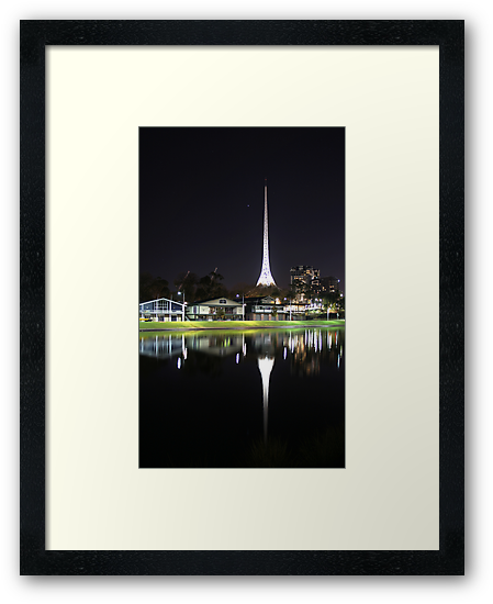 Arts Centre Spire by Jonathan Russell