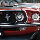 69 Mustang Muscle Car by Matthew Setright