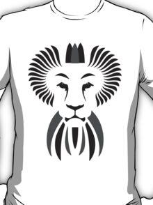 Lion Haze - Black & White King T-Shirt
