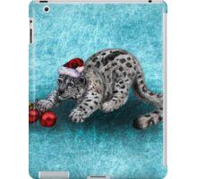 Snow Leopard iPad Case/Skin