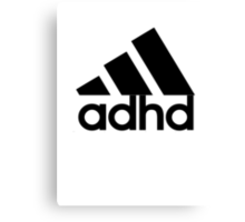 ADHD Canvas Print