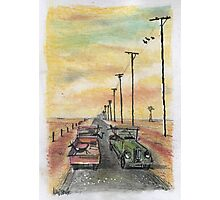 Country chinwag Photographic Print