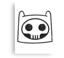 Finn Skull Face Canvas Print