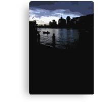 darling harbour dusk Canvas Print
