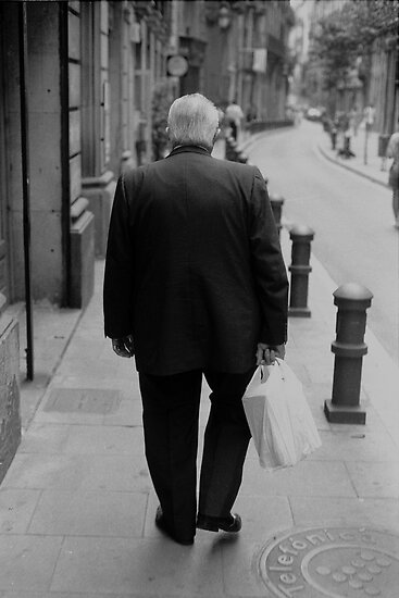Old Man, Barcelona by John  Cuthbertson | www.johncuthbertson.com