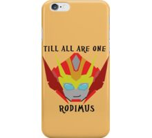 Till All - Rodimus (Hot Rod) iPhone Case/Skin