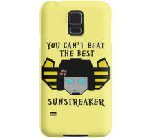 Beat the Best - Sunstreaker Samsung Galaxy Case/Skin