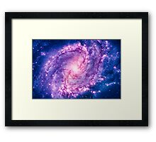 Cosmic vacuum cleaner (Spiral Galaxy M83) Framed Print