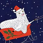 Santa Claus Sheep by SusanSanford