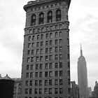 The Flat Iron Building and the Empire State Building by Jason Michaels