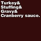 Thanksgiving Helvetica by fishbiscuit