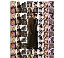 Tenth Doctor w/ Companions TWIN Duvet Cover and etc. by super221Bwolf