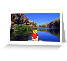 Chamberlain Gorge WA Australia Greeting Card