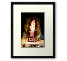 Are you ready to Zip? Framed Print