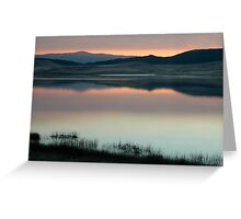 Pastel landscape  Greeting Card
