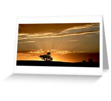 Last Rays - Nairne - Adelaide Hills Greeting Card