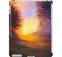 Colors of the morning light iPad Case/Skin