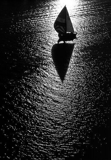 Sailing by Mark Higgins