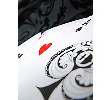 Lucky Heart Photographic Print
