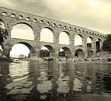Pont Du Gard by Craig Scarr