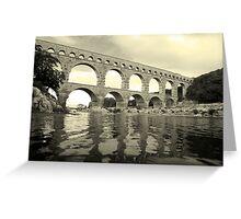 Pont Du Gard Greeting Card