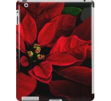 Poinsettia iPad Case/Skin
