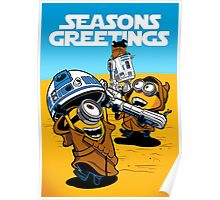 Despicable Jawas - Seasons Greetings Card Poster