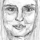self-portrait by karolina