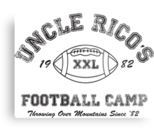Uncle Rico's Football Camp Metal Print