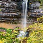 Munising Falls by Kenneth Keifer