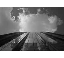 Looking Up v8 - AIG building, Hong Kong Photographic Print