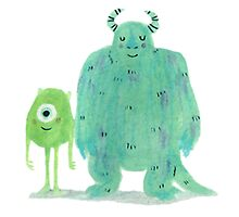 Monsters Inc. by marceyrose