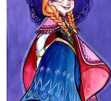 "Anna, Disney's ""Frozen"" by pignpepper"