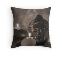 Still life with Budda Throw Pillow